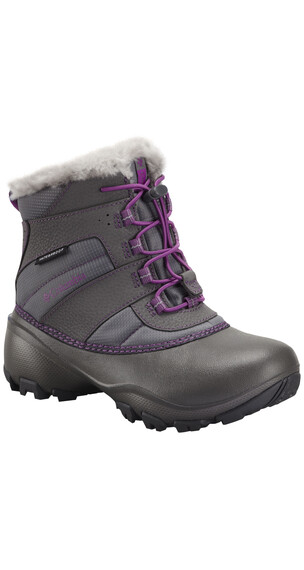 Columbia Rope Tow III Waterproof Boots Youth charcoal/razzle